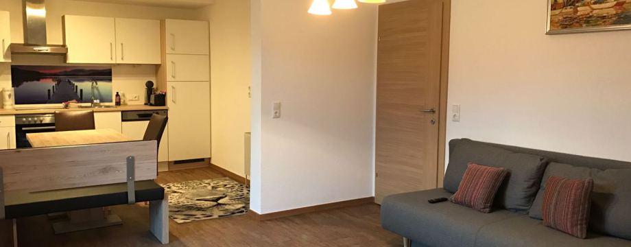 Wohlfühl Apartment Medicus - Blick auf Apartment Kitzsteinhorn und Imbachhorn
